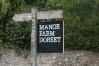 Manor Farm sign